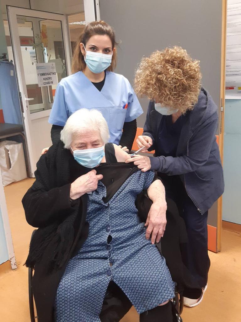 Εμβολιασμός γυναίκα Χίος
