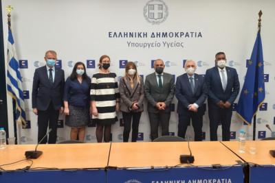 Συνάντηση Παναγιώτη Πρεζεράκου με κλιμάκιο του Διεθνούς Ερυθρού Σταυρού