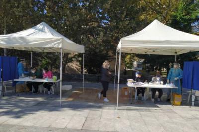 Ο ΕΟΔΥ στις Σερρες: Τι έδειξαν στα αποτελέσματα των rapid τεστ στην περιοχή επιπέδου 3